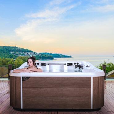 Artesian Hot tub make your backyard a tranquil escape.